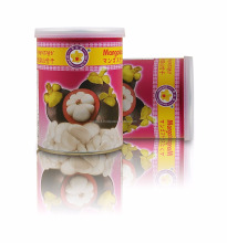 High Quality Dried Mangosteen 50 g tin can by Thai Ao Chi brand [ Dry Mangosteen fruit ]
