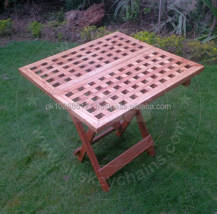 Wooden Picnic Table - Folding