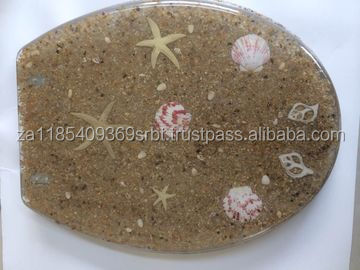 sands poly resin toilet seat on sales