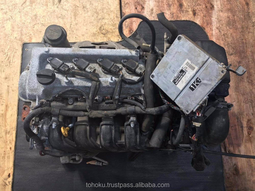 Used Engine Toyota 2NZ a/t 2wd (set cpu) | Japanese used auto parts/used engine of toyota/used car engine/used gasoline engine