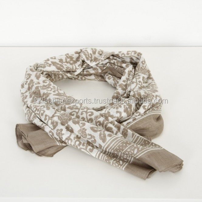 Soft Feeling Cotton Scarf