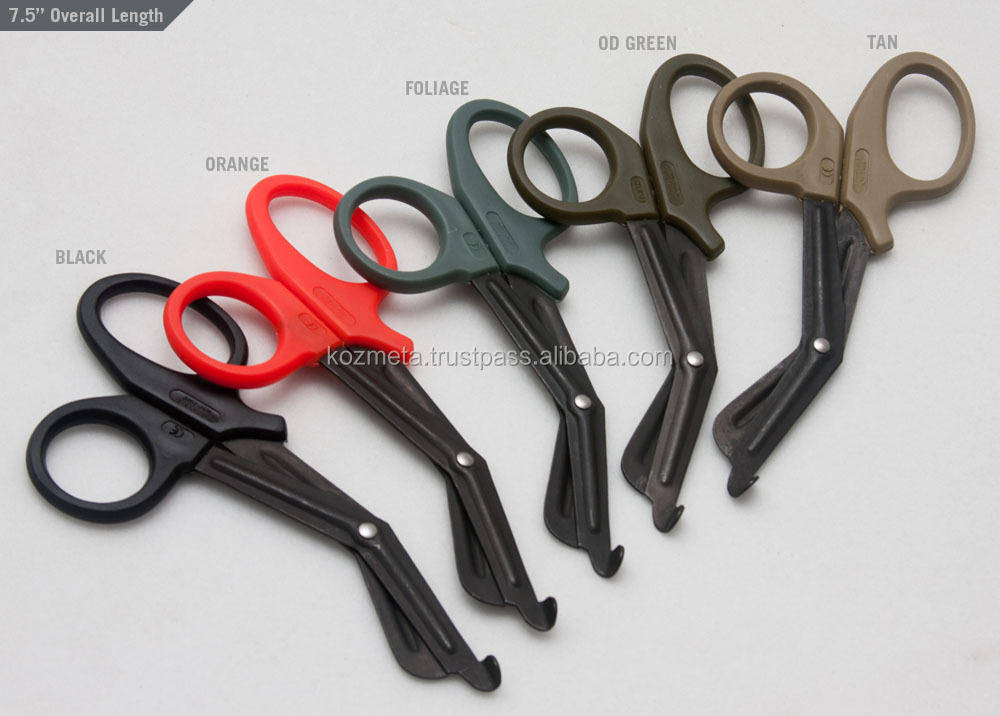 Stainless Steel Non-Stick Teflon Coated Medical EMT Trauma Shears
