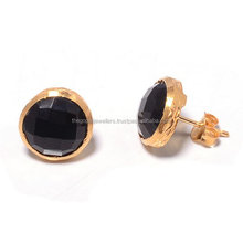 The Gopali Jewellers Wholesale fashion unique Black Onyx stud earrings for women