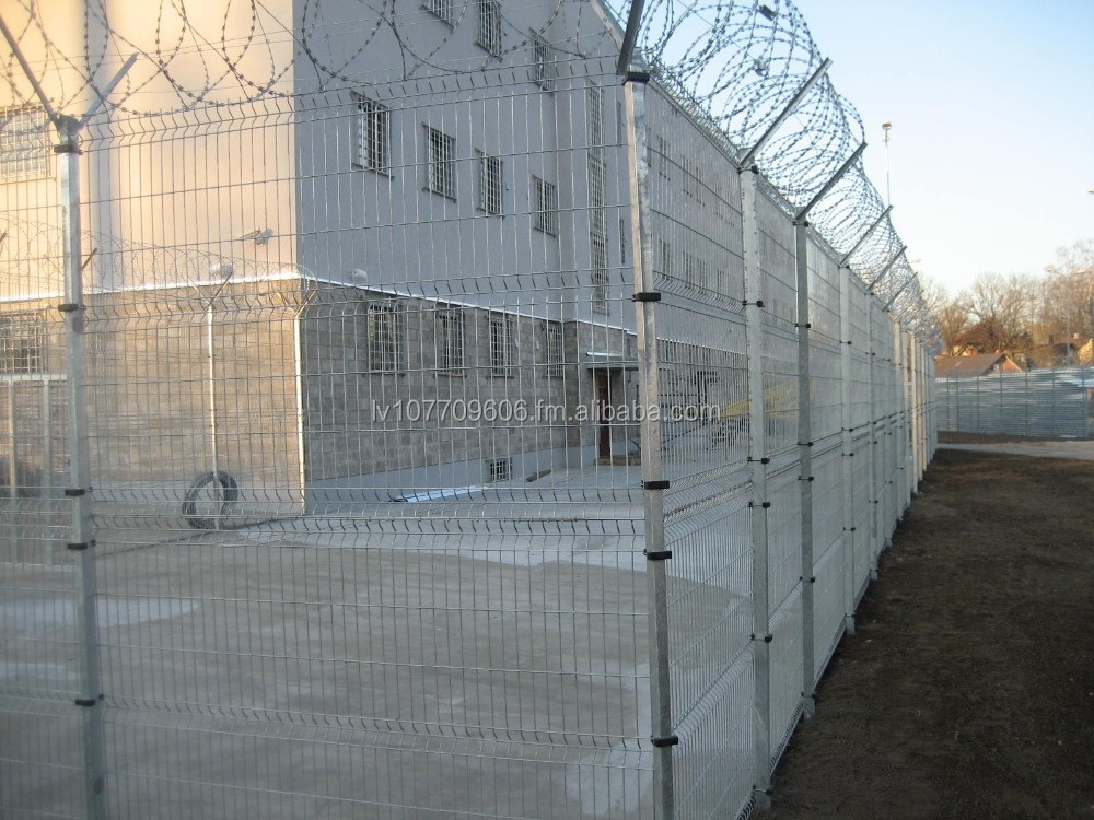 High quality Hot dip galvanized panel fence