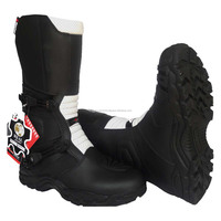 quad biker shoes off road racing shoes girls riding boots mens leather riding boots