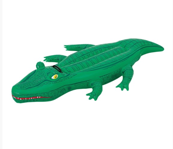 BESTWAY INFLATABLE CROCODILE IDEAL FOR POOL USE