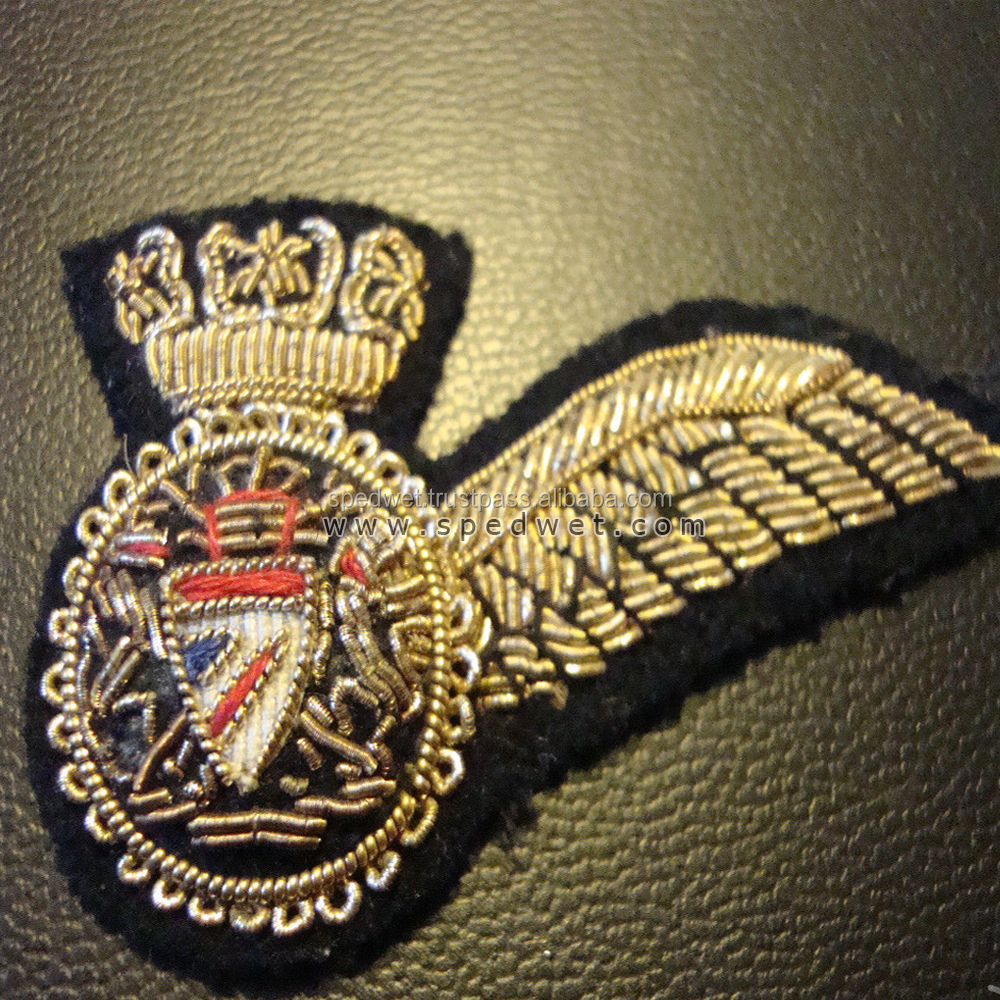 Circa late british airways flight attendant half wing embroidered badge