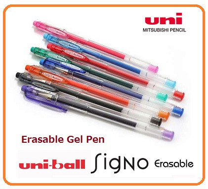 UNI UR-101ER Signo gel ink erasable ballpoint pen , Japan quality and reasonable price