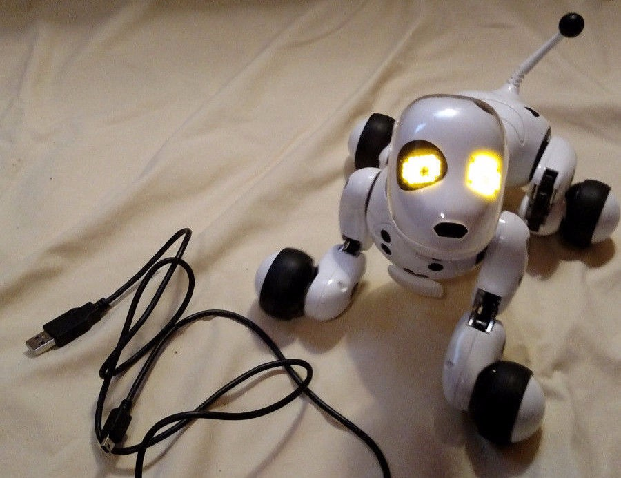 BUY SPIN MASTER ZOOMER DALMATION ROBOTO DOG MISSING EARS