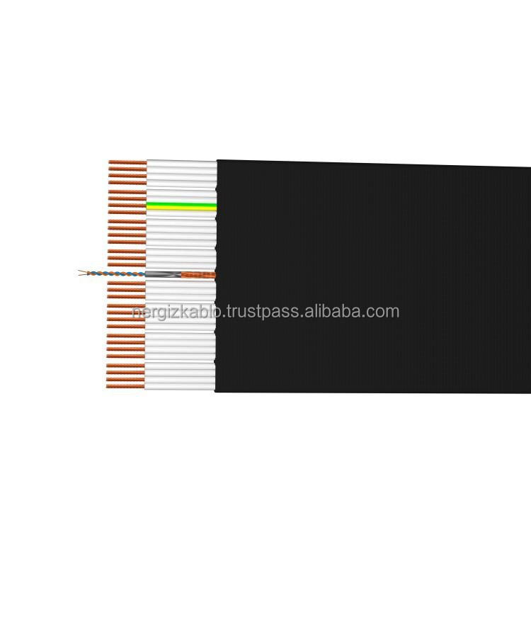 30*075+1px(2x0.22) elevator cable for serial communication