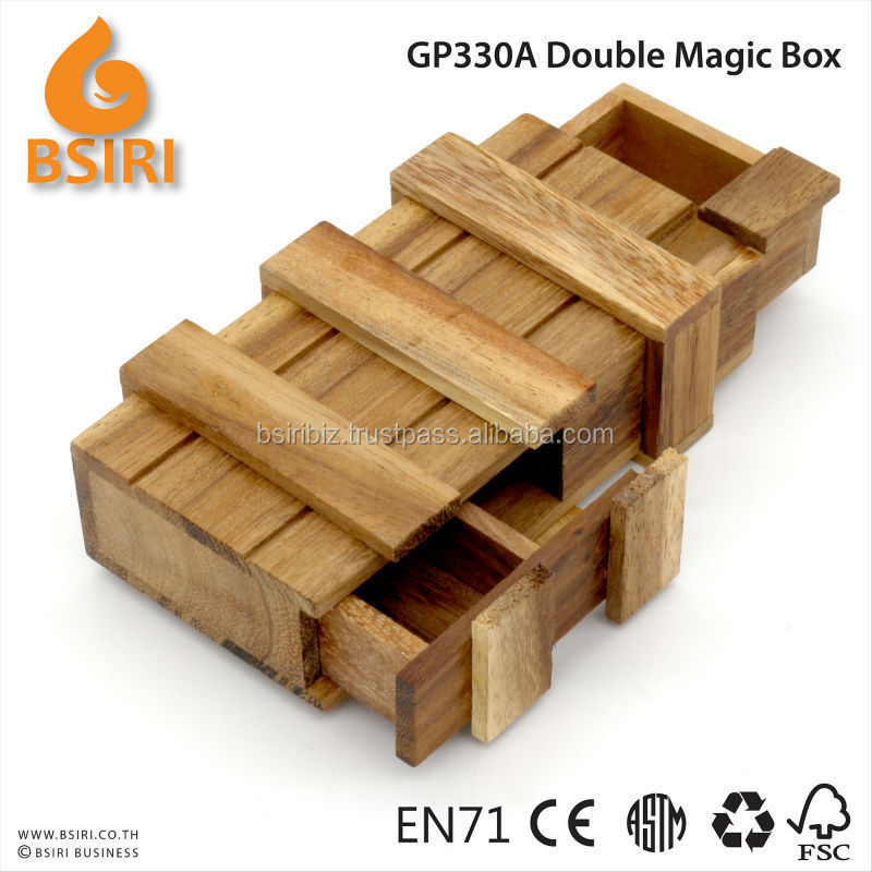 double magic boxes secret compartment boxes buy wooden. Black Bedroom Furniture Sets. Home Design Ideas