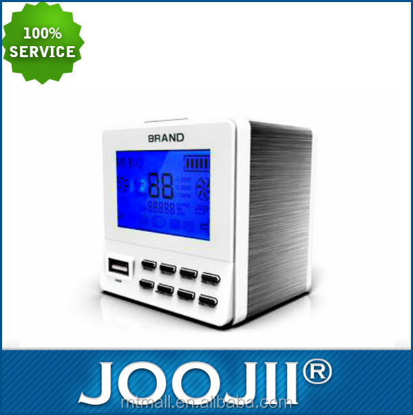 2015 New USB Charged Dual Alarm Clock Radio