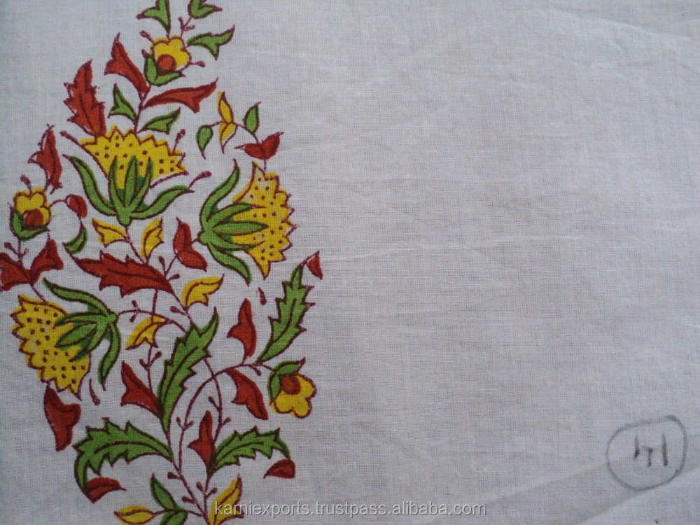 beautifully designed small prind for hand block printed on cotton cloth