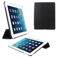 Four-fold Smart Leather Stand Case for iPad 2 3 4