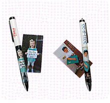 Office promotional name printed sublimation pen, fashion pens for sublimation