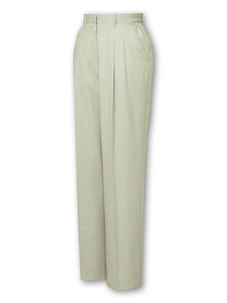 woman clothing summer / Double pleated ladies cargo pants at appealing prices. Made by Japan