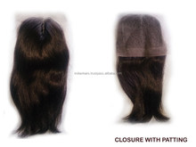 To Quality Middle Parting Remy Hair Lace Front Closure