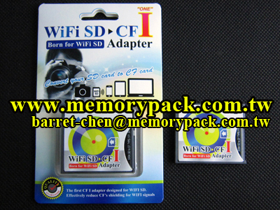 wifi SD to CF adapter reader converter