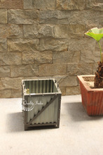 Metallic Tin Sheet Garden Plant Box