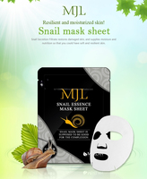 [Korea]MJL Snail mask sheet, Korean brand, resilient and moisturized skin