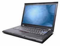 THINKPAD T400 LAPTOPS NOTEBOOKS CORE 2 DUO / 4096 RAM / 250 HDD / DVDRW / WEBCAM / WIN7PRO