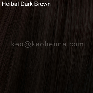 Herbal Dark Brown Henna Hair Dye