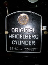 Heidelberg auto feed hot stamping machine