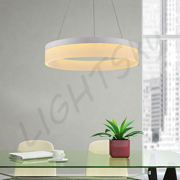 1 Round/Ring LED Pendant Lights