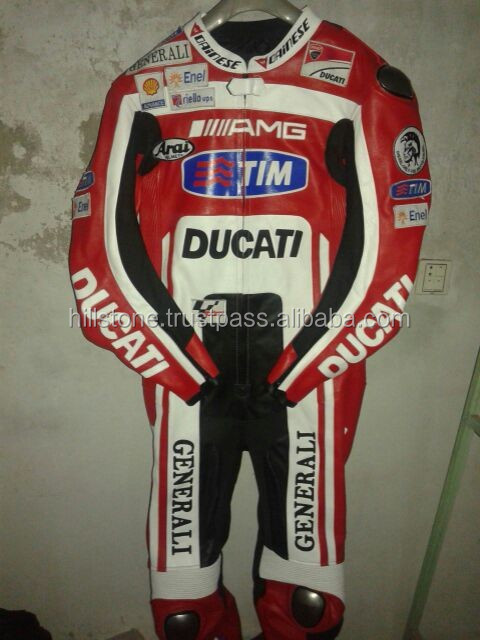 Motorcycle racing leather jacket/ motorcycle suits/men's motorbike suits