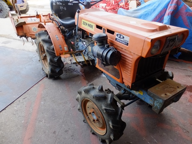 Used farming tractors