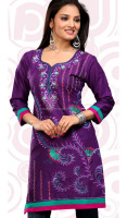 hot selling 2015 designer long tunic dress, indian traditonal pakistani kurti design, beautiful gorgette kurti
