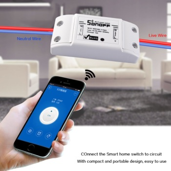 Smart Home WiFi Remote Timing Switch, Wireless Smartphone wifi controlled power switch for IOS and Android