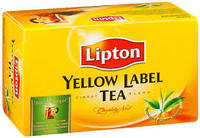 Lipton yello label
