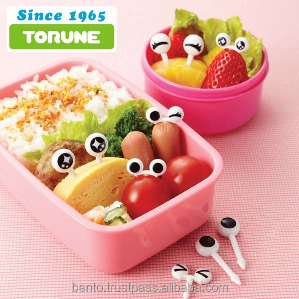 Fun and Japan brand eye picks torune bento for lunch making, best selling items, cake topper eye, trial order for bulk available