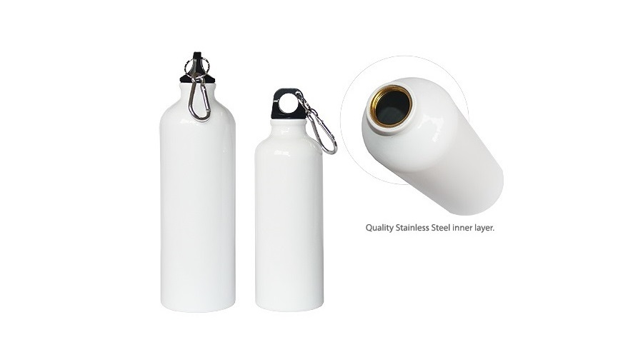 42501 Stainless steel Bottle 750ml with personalised logo printing