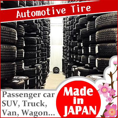 Nonslip and tireless used tire wholesale texas tire with high performance made in Japan