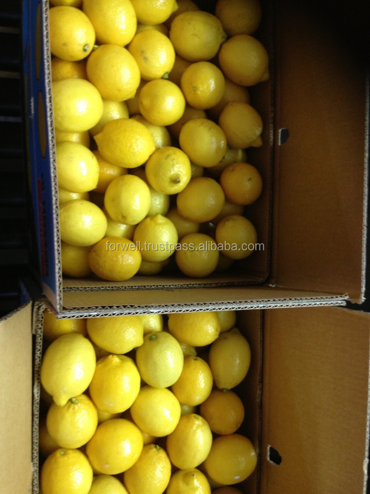 2016 agricultural products , lemons