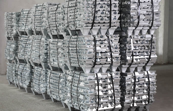 ZINC INGOT 99.995% OF EXECUTIVE STANDARD GB/T470-1997