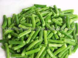 Hot selling IQF Frozen vegetable GREEN BEANS CUT (Halal)