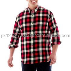 CUSTOM DESIGN LONG SLEEVE FLANNEL SHIRT