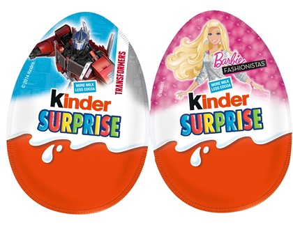 Ferrero Kinder Surprise/Kinder Joy/Kinder Buenos Chocolate