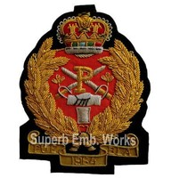 Machine Embroidery badges in high quality