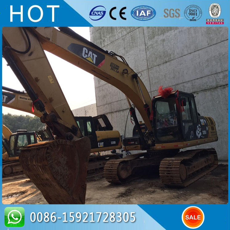 320 CAT Excavator For Sale , 320D Top Brand Crawler Used Excavator Caterpillar Price