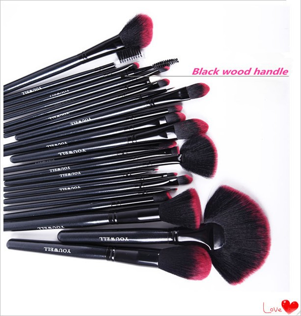 26pcs High end Womens Makeup Brush with Quality Bag