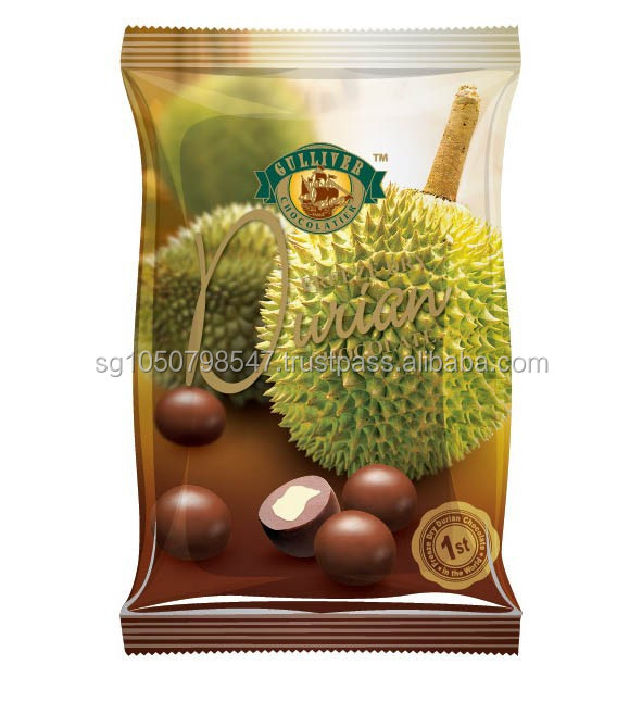 50g Flexi Mini pack Freeze Dried Durian in Milk Chocolate