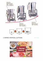 L- Series Vertical Cutter/Mixer