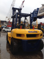 Used Komatsu forklift 8 ton, fd80e-8, Original from Japan, good condition, located in shanghai