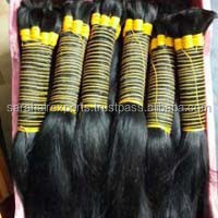 Raw bulk hair / unprocessed human hair bulk ,double drawn hair,Indian hair