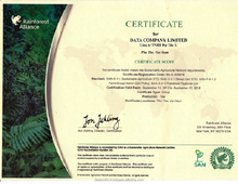 2015 best selling safe CTC Black Tea with certificate of Rainforest