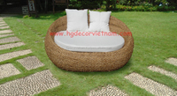 Water hyacinth 2 seater sofa , water hyacinth furniture from Vietnam